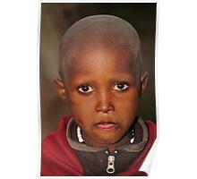 Maasai Child Poster