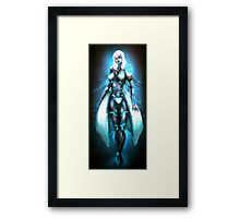 Anna 2.0 The Female Cyborg Framed Print