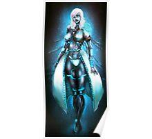 Anna 2.0 The Female Cyborg Poster