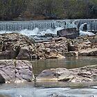 Marble Creek Waterfall by Susan S. Kline