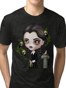 Be Afraid (Wednesday) Tri-blend T-Shirt