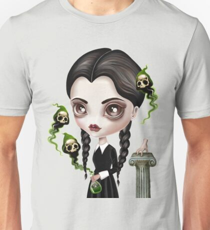 Be Afraid (Wednesday) Unisex T-Shirt