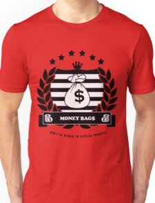 Money Bag$ Design Unisex T-Shirt