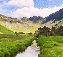 Warnscale Beck, Buttermere by Graham Prentice