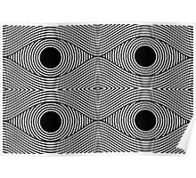 eyes -  Illusion Psychadelic  Poster