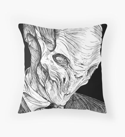 The Silence Throw Pillow