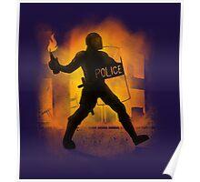 Riot Cops Poster