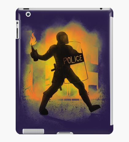 Riot Cops iPad Case/Skin
