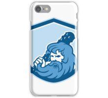 Hercules Wielding Club Shield Retro iPhone Case/Skin