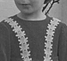 'Donna Williams' aged 4 Sticker
