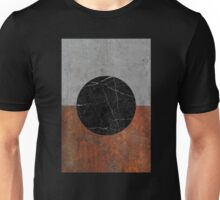 Abstract - Marble, Concrete, Rusted Iron Unisex T-Shirt