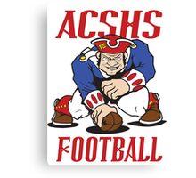 ACSHS Patriot Football Canvas Print