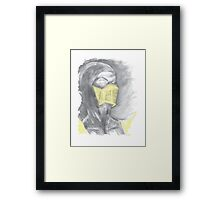 Mortal Kombat Scorpion Framed Print