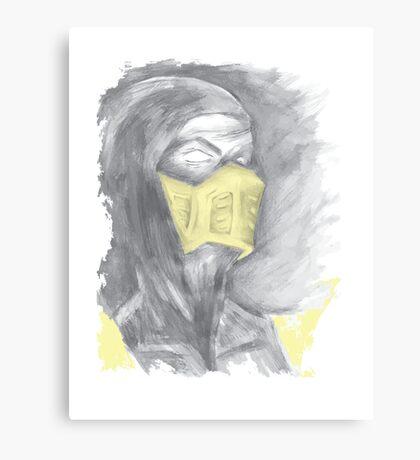 Mortal Kombat Scorpion Canvas Print