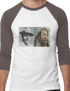 The Dub : Celebrating Roots Reggae Music Men's Baseball ¾ T-Shirt
