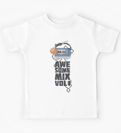 Awesome Mix Vol. 1 Part II Kids Tee