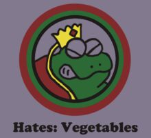 Hates: Vegetables Kids Clothes