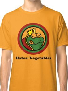Hates: Vegetables Classic T-Shirt