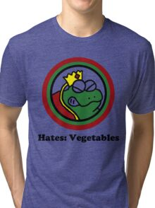 Hates: Vegetables Tri-blend T-Shirt