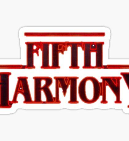 Fifth Harmony Stranger Things Sticker
