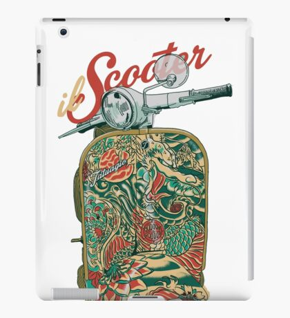 il Scooter iPad Case/Skin
