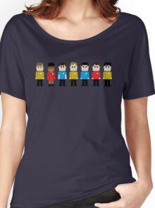 8-Bit Star Trek Women's Relaxed Fit T-Shirt