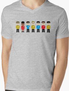 8-Bit Star Trek Mens V-Neck T-Shirt