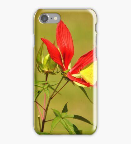 Hibiscus and Sulfur iPhone Case/Skin