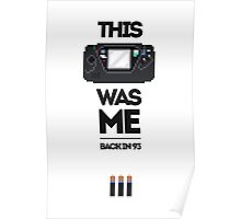 This Was Me: Game Gear Poster