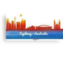 iconic Sydney Australia Canvas Print