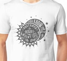 THE DOORS - DAY DESTROYS THE NIGHT Unisex T-Shirt