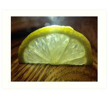 Lemon Slice Art Print