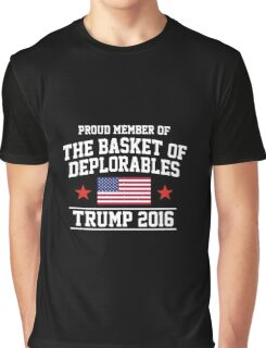 The Basket of Deplorables Graphic T-Shirt