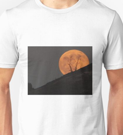 PEEK-A-BOO MOON Unisex T-Shirt