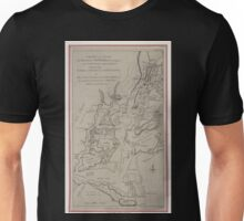 122 Chart and plan of the harbour of New York the Couny Adjacent from Sandy Hook to Kingsbridge comprehending the whole of New York and Staten Islands and part of Long Island the Jersey Unisex T-Shirt