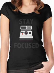 Retro Photographer Women's Fitted Scoop T-Shirt