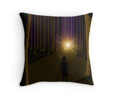 Lost and Found Throw Pillow