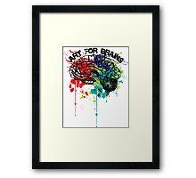 art for brains Framed Print