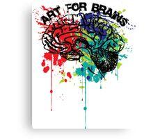 art for brains Canvas Print