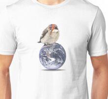 lightening bolt bird (bowie) Unisex T-Shirt