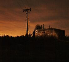 Pillbox night by Andy Fear