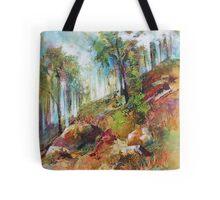 Monsildale hillside Tote Bag