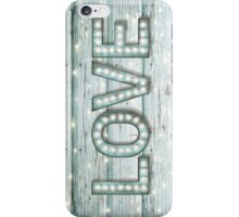 Love is the Light of Your Soul (LOVE lights II) iPhone Case/Skin