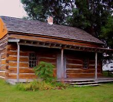 Meyer Log Cabin by Francis LaLonde