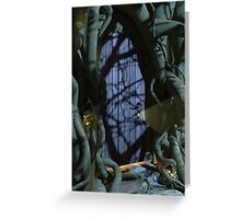 Fantasy Forest Door Greeting Card