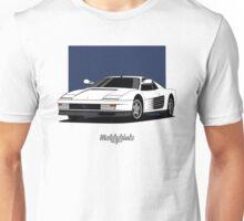 Ferrari Testarossa (white) Unisex T-Shirt