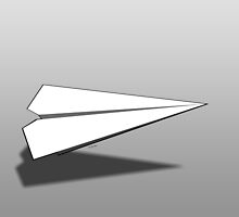 Paper Airplane 18 by YoPedro