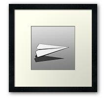 Paper Airplane 18 Framed Print