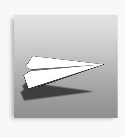 Paper Airplane 18 Canvas Print