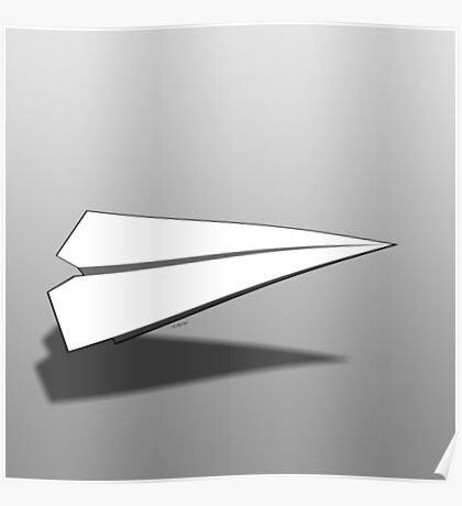 Paper Airplane 18 Poster